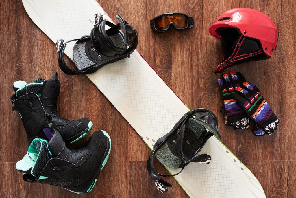 Snow boarding gear